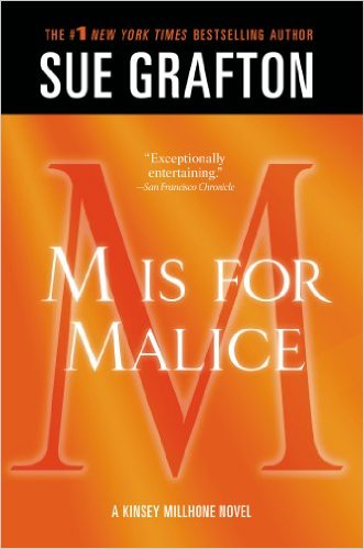 M is for Malice Book Cover