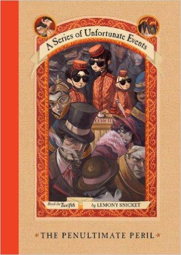 The Penultimate Peril Book Cover