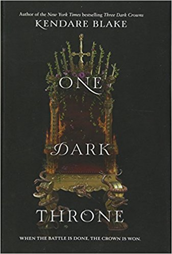 2018: #3 – One Dark Throne (Kendare Blake)